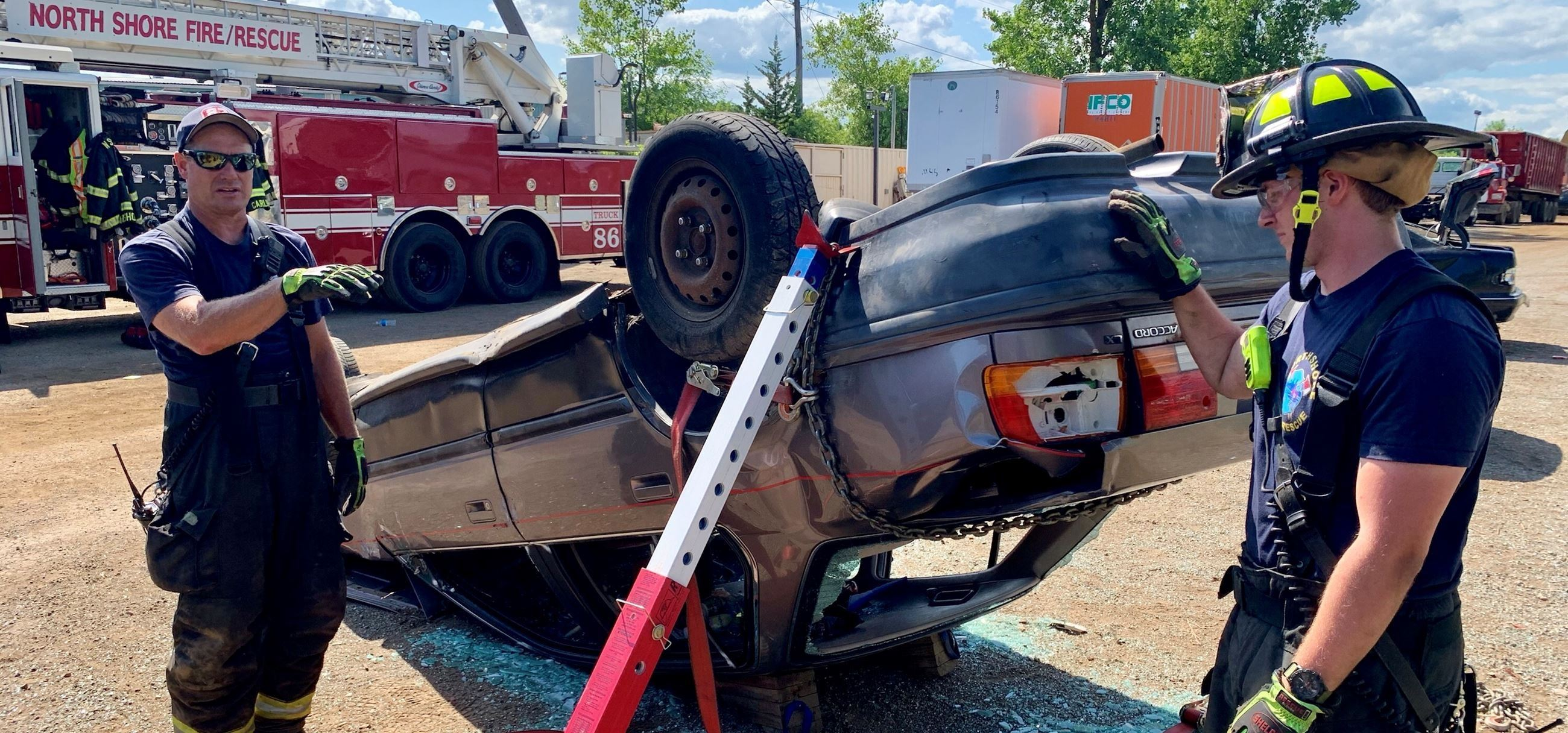Extrication Training with stabilization